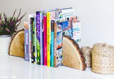DIY drewniane podpórki do książek - Design Your Life