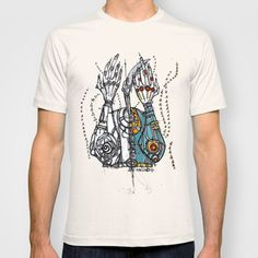 Sketch Noise T-shirt by Maccu Maccu - $18.00