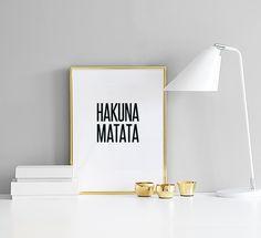 Schönes Typografie-Poster mit toller Schrift und wunderbarem Zitat.