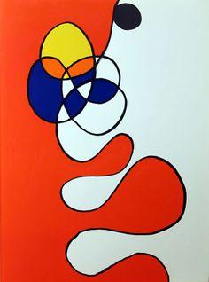Artist: Alexander Calder Title: Derrier le Miroir (Abstract III) Year: 1968