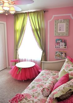 Tutu table for Ellie's future big girl room. Teenage Girl Bedrooms, Little Girl Rooms, Girls Bedroom, Bedroom Decor, Bedroom Ideas, Tutu Table, Princess Room, Daughters Room, New Room