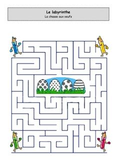 Easter Maze Free Easter activity sheets for children Mazes For Kids, Easter Activities For Kids, Easter Games, Preschool Activities, Easter Coloring Pages, Cool Coloring Pages, Creative Kids, Easter Crafts, Holiday Fun