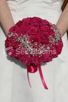 fuchsia roses wedding - Google Search