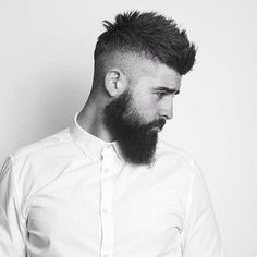 """413 mentions J'aime, 1 commentaires - The Bearded (@thebearded.4u) sur Instagram : """"✔️Via @beardbrothers.4u No caption needed, when a men has a beard • • • • • • #fader…"""""""