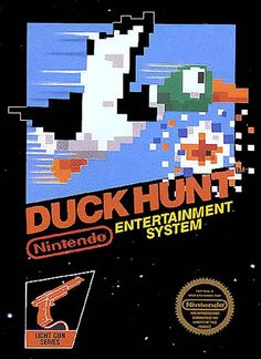 This game consumed more of my childhood than I'd like to admit. Duck Hunt came out in 1984. This game consisted of the player being the hunter.  The laughing dog was the friend that grabbed the little duck shot down. There wasn't a whole lot to this game besides point and shoot, but it was amazing to play, day in and day out.