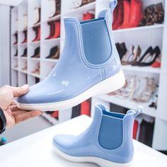 Cizme din cauciuc dama bleu Mafika -rl Chelsea Boots, Ankle, Navy, Winter, Casual, Shoes, Fashion, Hale Navy, Winter Time