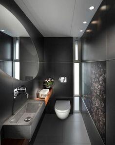 Toilettes en longueur dans une teinte grise très tendance