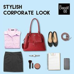 Complete your office wardrobe by adding this ‪#‎bowlerbag‬ to get a stylish corporate look. To elevate your office-wear get-up, pick this bag at any Exclusive Baggit stores or www.baggit.com.