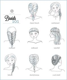 What's your favorite braid to wear? Check out all the tutorials we have for you to achieve your perfect braided look!