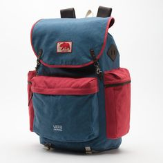 Adelanto Backpack - A retro-inpsired rucksack from Vans' California Collection $120