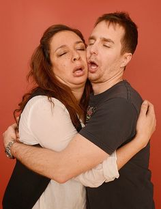 Maya Rudolph and Sam Rockwell for The Way Way Back, 2013
