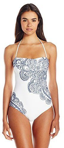Pin for Later: Ciara Just Chose the Most Picture-Perfect Fall Swimsuit  Nanette Lepore Women's Henna Goddess One Piece ($160)