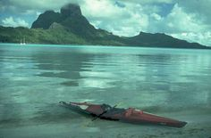 (Bora Bora, French Polynesia) -- Have Feathercraft, Will Travel_To give blame where blame is due, most of these insights have been gained while on trips with the San Francisco Bay Area Sea Kayakers (BASK). This group of 300+ smart, attractive people are fleeing regular employment like aquatic lemmings to wander off to Chile, Greenland, and Fiji in search for the perfect hot springs, new recipes, and another slide show.