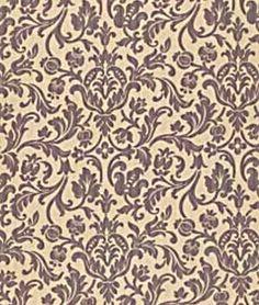 Robert Allen Cuffley Amethyst Fabric