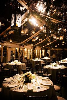 Backyard Wedding- tent idea for back up- clear ceiling