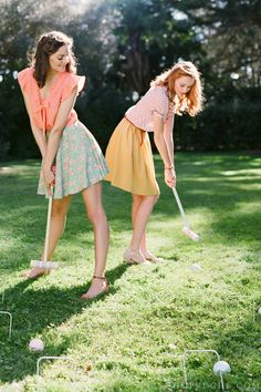 Such cute spring outfits! // Ruche