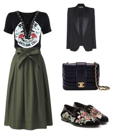 """""""rock the buisniss"""" by sonjamilica on Polyvore featuring Uniqlo, Alexander McQueen, Chanel and Tom Ford"""