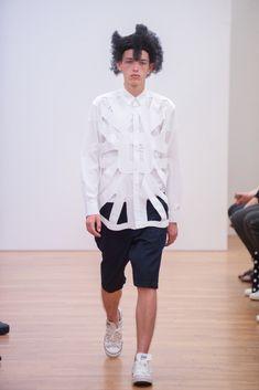 Comme des Garçons Shirt Spring 2016 Menswear Fashion Show Collection