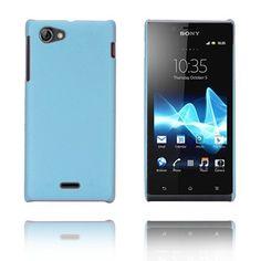 Alpha (Blå) Sony Xperia J Etui