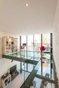 le plus beau lieu de travail avec plancher verre, dalle de verre pour le plancher moderne