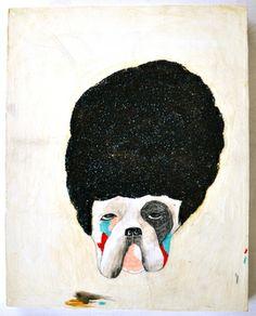 "Saatchi Online Artist Kelly Puissegur; Painting, ""Nice Hair"" #art"