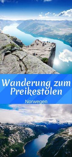 Wanderung zum Preikestolen in Norwegen. Eine der beliebtesten Wanderwege überhaupt. Doch die Wanderung zum Preikestolen ist nicht ohne - deswegen haben wir hier jede Menge Informationen und tipps für dich gesammelt, damit deine Reise zum Preikestolen ein großartiges Erlebnis wird. #norwegen #preikestolen #wanderung #wandern #reisetipps #tipps