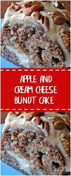 Ingredients Cream Cheese Filling: 1 (8-oz.) package cream cheese, softened 1/4 cup butter, softened 1/2 cup granulated sugar 1 large egg 2 tablespoons all-purpose flour 1 teaspoon vanilla extract Apple Cake Batter: 1 cup finely chopped pecans