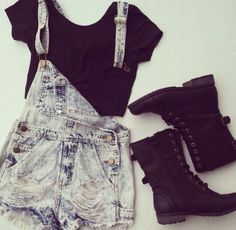 Cute hipster outfits for girls. hipster outfits ideas for women 2018 Teen Fashion Outfits, Outfits For Teens, Casual Outfits, School Outfits, Fashion Clothes, Fashion Hair, Grunge Outfits, Clothes For Teens, Fashion Boots