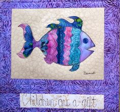 Julie Bagamary Art: Children Are A Gift