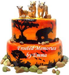 safari birthday | Safari / Zoo Birthday Cake | Flickr - Photo Sharing!