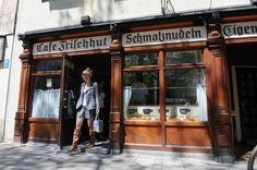 """Schmalznudel: Café Frischhut? Kennt kein Mensch. Beim Stichwort """"Schmalznudel"""" aber dämmert es den Münchnern."""