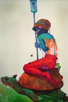 mikapoka - Polish artist Przemek Blejzyk, aka Sainer