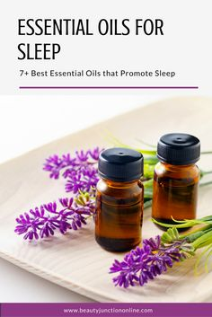 Discover the best essential oils for sleep.