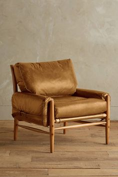 Leather cargo chair - Rhys by Anthropologie