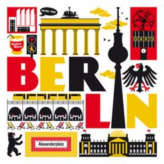 Berlin art print from Taylors Type