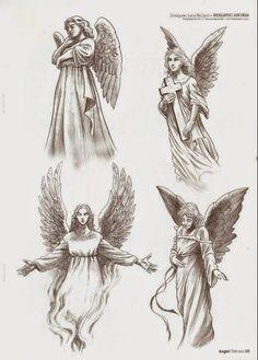 Tatuajes de ángeles y diseños de regalo   Belagoria   la web de los tatuajes