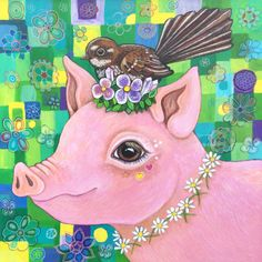 A personal favourite from my Etsy shop https://www.etsy.com/nz/listing/578912729/princess-daphne-original-painting