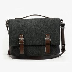 Hi! I made this messenger bag for 13 inch Macbooks. In my work i use recycled 4mm felt. Its solid and tender fabric, so your device will be save from any