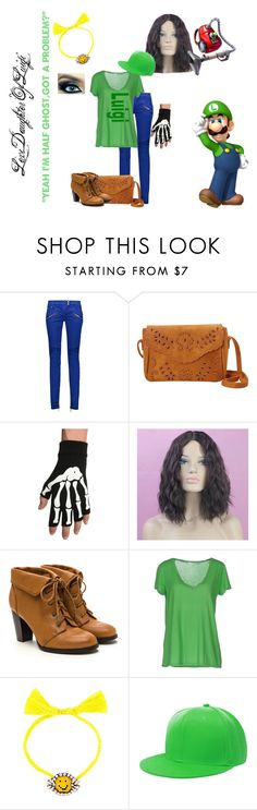 """""""Dauther Of Luigi"""" by red-9-quinn on Polyvore featuring Balmain, Nu-G, jucca and Shourouk"""