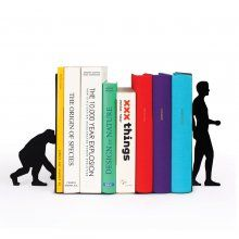 Buchstützen Evolution Bookends 2er Set