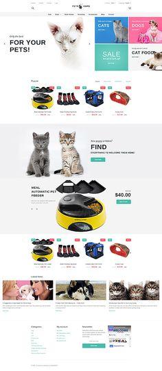 The Best For Your Pet Online Store #Prestashop #template. #themes #business #responsive #webshop #Prestashopthemes