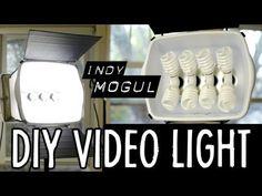 Cómo crear un kit de iluminación casero How-to: Powerful DIY video light (800 watt equivalent) http://www.youtube.com/watch?v=NFzIP_TN75A=player_embedded