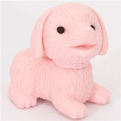 cute pink dog eraser from Japan by Iwako 1