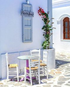 Are you interested in taking a vacation in the near future? If you are, have you already made your travel arrangements? Paros Greece, Santorini Greece, Mykonos, Lets Eat In, Greek Blue, Paros Island, Places In Greece, Greece Islands, Beach Shack