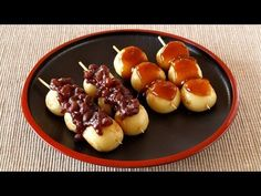 Dango is Japanese sweet dumplings.  Three or four Dango are often served on a skewer, which we call Kushi Dango (串だんご).    In this video, I will show you how to make Mitarashi Dango / みたらし団子 (Dango with sweet and savory soy sauce) and An Dango /あん団子 (Dango with red bean paste).    I hope you like them =)    ---------------------------------  How to Make...