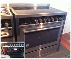 Freestanding Electric Oven with 5 Hob Ceramic Top | Trade Me
