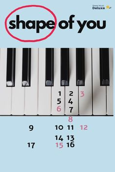 Piano Sheet Music Letters, Piano Music Notes, Easy Piano Sheet Music, Ukulele Songs, Music Guitar, Piano Lessons, Music Lessons, Piano Tutorial, Tips And Tricks