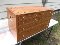 Cherry Chest w/suede lined drawers - Reader's Gallery - Fine Woodworking