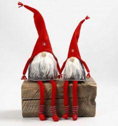 Skandináv stílusú fázós törpék filcből / Mindy -  kreatív ötletek és dekorációk minden napra