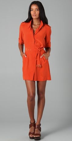 DVF shirt dresses